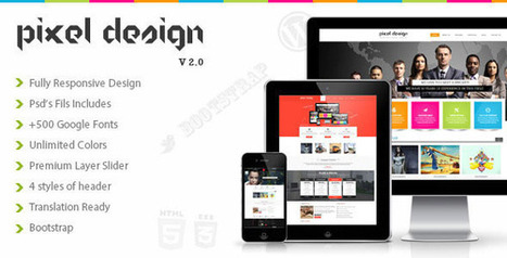 Booard Company Websites Template (Enterprise) | Quality Wordpress Themes | SEO Web Design | Scoop.it