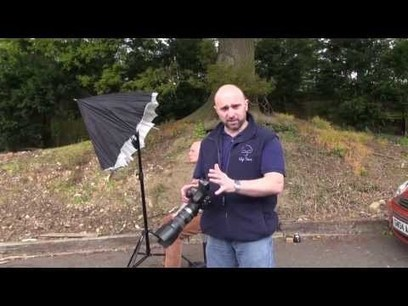 Quick and Easy Trick For Adding a Black Background to Your Shots Anywhere | Photo News | Scoop.it