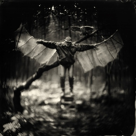 "Alex Timmermans Collodion Ambrotype wet plate Photography: The making of "" Flight Instruction....."" 