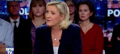 #Presidentielle2017 Marine Le Pen invitée de BFM TV le 16/10/2016 | Le libre arbitre à l'épreuve de la neurobiologie | Scoop.it
