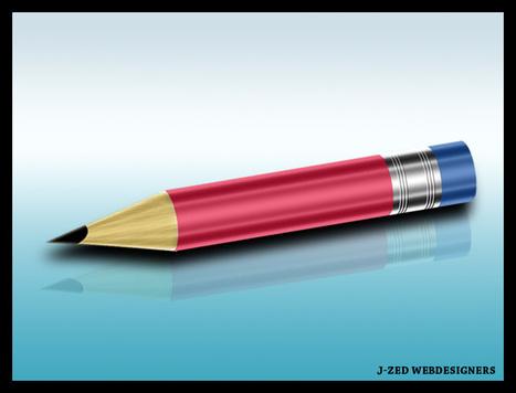 Crayon avec un effet tridimensionnel sous PS | | Photoshop Design | Scoop.it