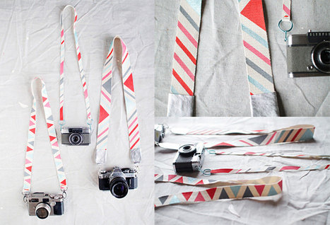 Make Your Own Custom-Painted Camera Strap Using Cotton Webbing | custom | Scoop.it