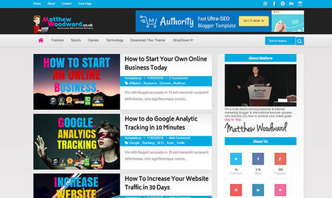 Authority Blogger Template | Pro Templates Lab | Scoop.it