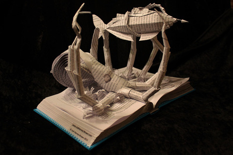 Creative Book Sculptures Bring Fairy Tales to Life | Priceless | Scoop.it