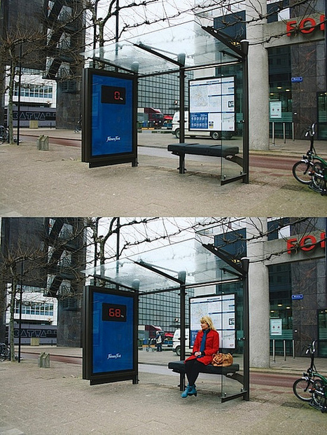 Fitness first digital scales / bus stop seat | Flickr - Photo Sharing! | Digital Campaigns | Scoop.it