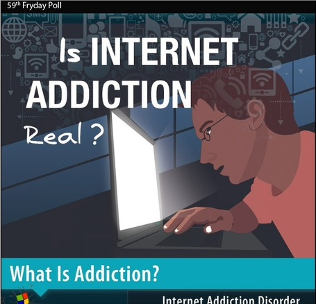 Is Internet Addiction Real? - Facts & Infographic | JOIN SCOOP.IT AND FOLLOW ME ON SCOOP.IT | Scoop.it