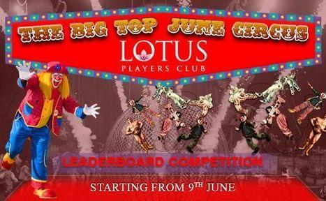 The Big Top June Circus | Lotus Group of Online Casinos | Scoop.it