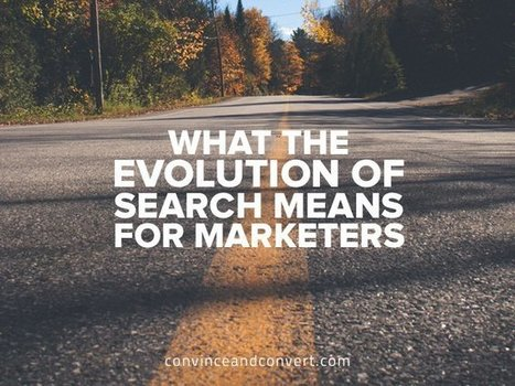What the Evolution of Search Means for Marketers | Digital Content Marketing | Scoop.it