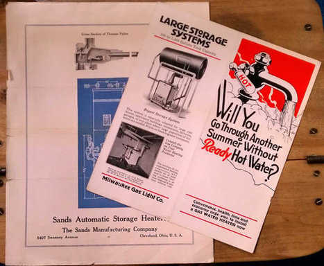 Vintage Milwaukee Gas Light  Co & Sands Manufacturing Heater Brochures 1920s 1930s Illustrated Ephemera | Antiques & Vintage Collectibles | Scoop.it