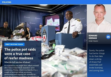 Pot raids were a true case of reefer madness - Toronto Star Touch | Police et justice | Scoop.it
