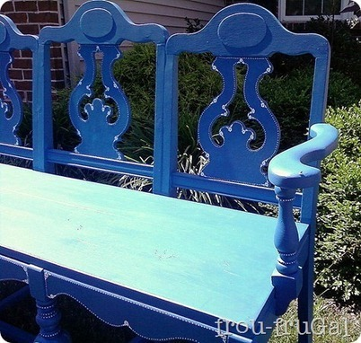 From Chairs to A Bench - Frou FruGal | Upcycled Objects | Scoop.it