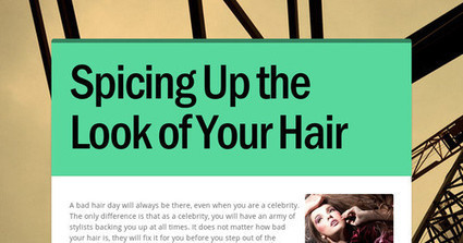 Spicing Up the Look of Your Hair | Hair salon fresh meadows ny | Scoop.it