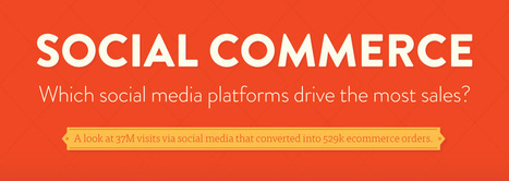 Facebook Dominates as a Source of Social Traffic and Sales [Infographic] | Branding | Scoop.it