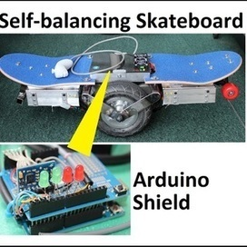 Segw*y Self-balancing skateboard | Arduino progz | Scoop.it