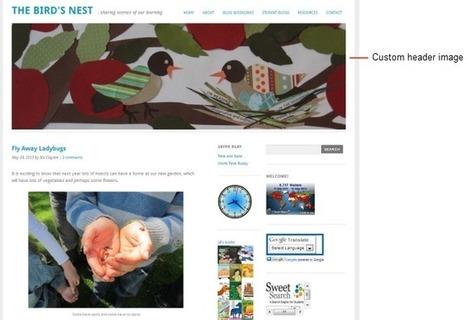 Step 1: Set up your class blog | Edublogs Teacher Challenges | ICT tools, learning and teaching practises (outils TIC et pratiques pédagogiques) | Scoop.it