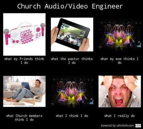 Church Audio/Video Engineer | What I really do | Scoop.it