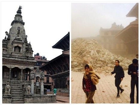 Nepal's Historic Architecture DESTROYED By Earthquake | URBANmedias | Scoop.it