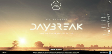 AT&T and BBDO Launch Mega-Media [Transmedia] Storytelling with Daybreak | Market to real people | Scoop.it