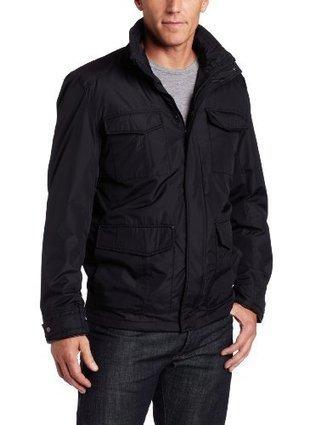 !!!  HGZS11008 Hawke & Co Mens Ipod Feldstar 4 Pocket Parka, Black, X-Large Hawke & Co Black   Discount Jackets Coats for Men   Scoop.it
