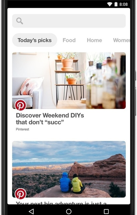 Pinterest Debuts Auto-Play Video Ads, Explore Content-Discovery Feature | Pinterest | Scoop.it