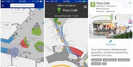 United adds indoor maps and beacon-based wayfinding to app | Wearable Devices | Scoop.it