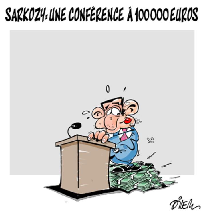 La conférence de Nicolas Sarkozy à 100 000 euros | Baie d'humour | Scoop.it