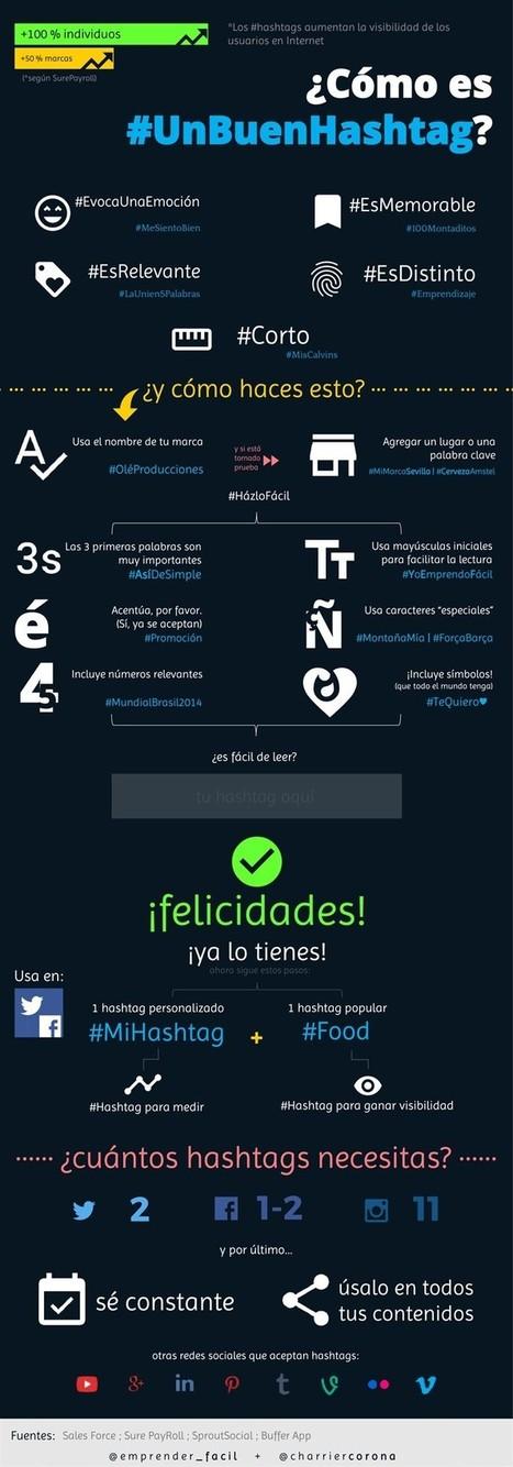 Cómo es un buen Hashtag #infografia #infographic #socialmedia | Educacion, ecologia y TIC | Social Media | Scoop.it