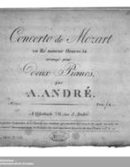 Partition parties complètes, Piano Concerto No.20, D minor, Mozart, Wolfgang Amadeus | Musique classique, opéras, ballets | Scoop.it