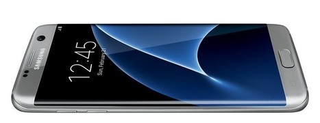 Galaxy S7 edge: Latest leaked render reveals curvy design | Samsung mobile | Scoop.it