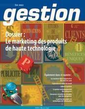 Introduction au dossier sur le marketing des produits de haute technologie - Cairn.info | Marketing BtoB | Scoop.it