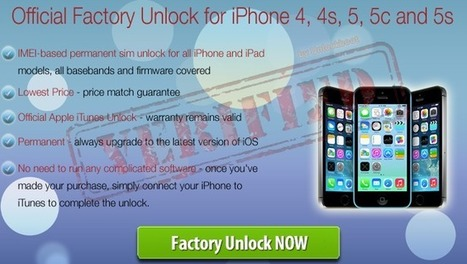 Unlock iOS 7 iPhone 5c/5s/5/4/4s | Unlock iOS 7 | Scoop.it