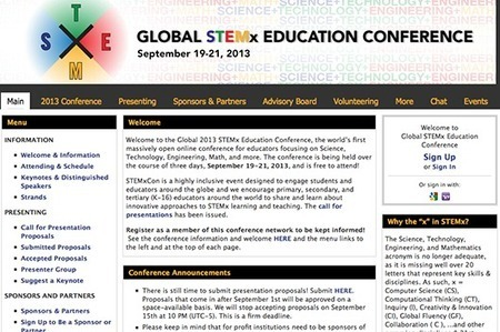 Global STEMx Education Conference, September 19-21   Common Core   Scoop.it