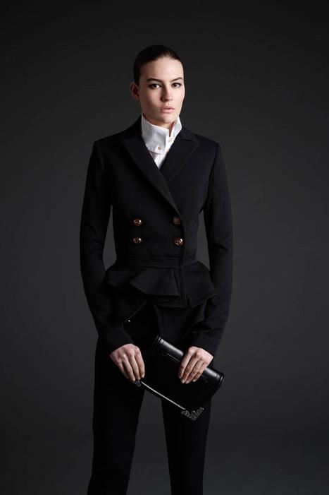 Maria Bradley Models McQ Alexander McQueen's Fall/Winter 2013 Collection   Moda actual   Scoop.it