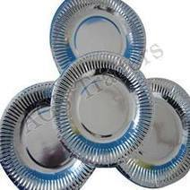 Disposable Paper Plates - Silver Coated Paper Plates and Square Shaped Paper Plates Manufacturer & Exporter from Coimbatore, India   Disposable Products & Machines   Scoop.it