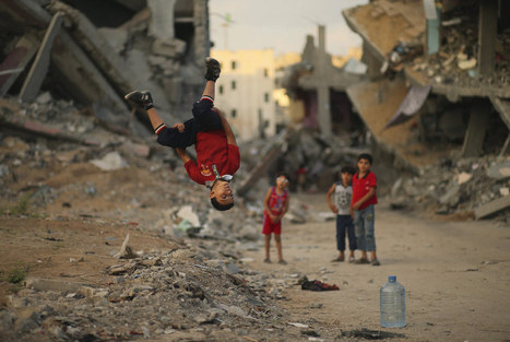Palestinian Youth Perform Parkour In Gaza War Zone | images in context | Scoop.it