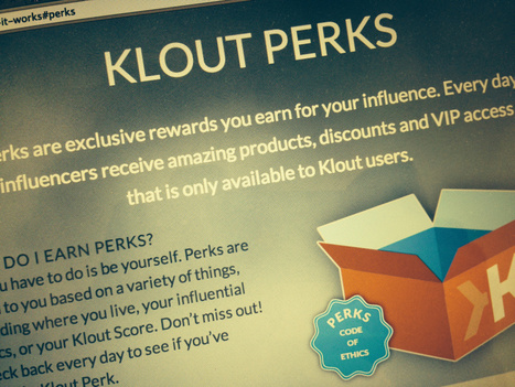 Klout Is Unable To Establish It`s Own Authority | Influence Marketing Strategy | Scoop.it