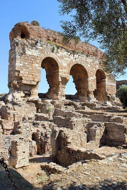 Earthquake-Ravaged Ancient Turkish City Restored - Archaeology Magazine   Ancient Civilization   Scoop.it