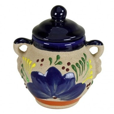 Talavera Sugar Coffee Jar with Handles | Hand Painted Tiles and Talavera Pottery | Scoop.it