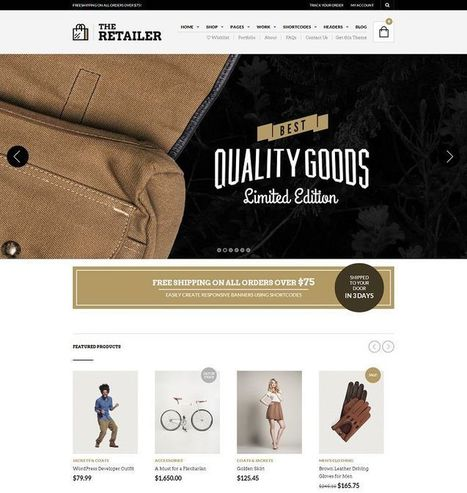WordPress eCommerce Themes | Best of 2015 | eCommerce Website Templates | Scoop.it