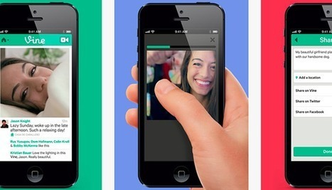 Twitter's 'Vine' video sharing app debuts; Pebble smartwatch app hits App Store | Better know and better use Social Media today (facebook, twitter...) | Scoop.it
