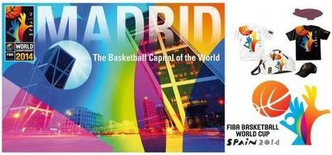 L'identité visuelle du championnat du monde de Basketball 2014   WILLIE BEAMEN   Identité visuelle   Scoop.it