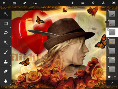 Adobe Photoshop Touch hits iPad 2 for US$9.99 | alles für den foto | Scoop.it