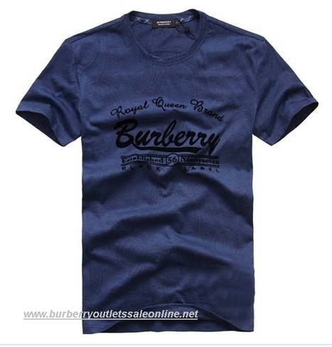Burberry Mens Round Collar T-Shirt 146 [B003877] - $90.00 : Burberry Outlet Stores,Burberry Outlet Online,Cheap Burberry For Sale | Burberry | Scoop.it