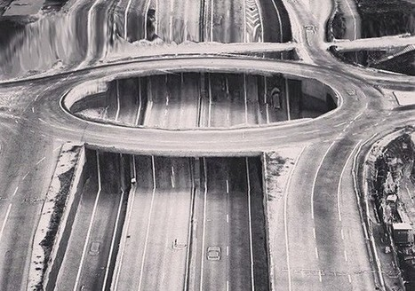 Apple Maps Glitch Art Portrays A Surreal Parallel Universe [Pics] - PSFK | data glitching | Scoop.it