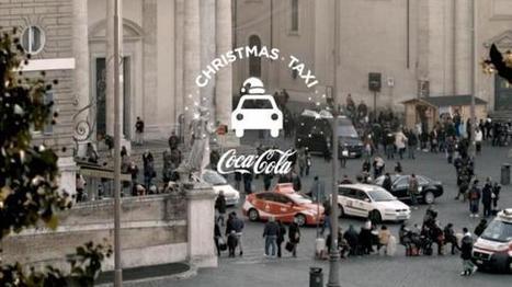 Tous à bord du Christmas Taxi avec Coca-Cola! | streetmarketing | Scoop.it