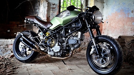 King Bike Ducati, from Rust to Street-Prowling Glory - autoevolution | Ductalk Ducati News | Scoop.it