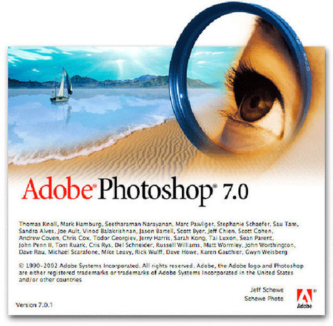 20 Years of Adobe Photoshop | aspect 1: illustrator and Photoshop | Scoop.it