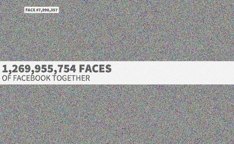 Faces of Facebook est un mashup interactif des 1.26 milliard de profils | André Gunthert | Scoop.it