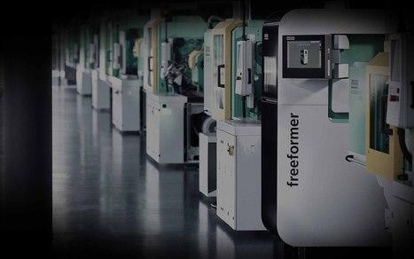 freeformer- ARBURG | Additive Manufacturing or 3D Printing | Scoop.it