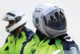 Aussie student re-invents police motorcycle helmet, adds 'RoboCop' features | motorcycle technology | Scoop.it